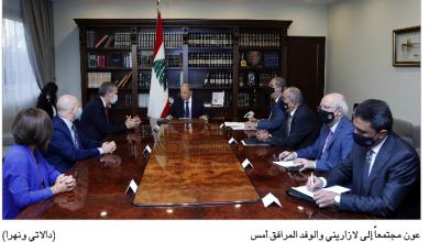 Photo of عون: لبنان ينتظر التجاوب مع طلبه تسهيل عودة النازحين من سورية إلى ديارهم