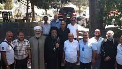 Photo of وفد موسع زار بلدية البيرة والتقى رئيسها وأعضاءها والمختار وفاعليات البلدة ومنطقة الدريب