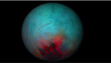 Photo of ناسا تقدّم دليلاً على الجليد  فوق قمر زحل انسيلادوس