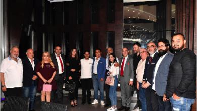 Photo of رئيس «مركز النور اللبناني ـ البلجيكي» حسن شكر كرّم طلال سلمان ونخبة من الصحافيين والأصدقاء