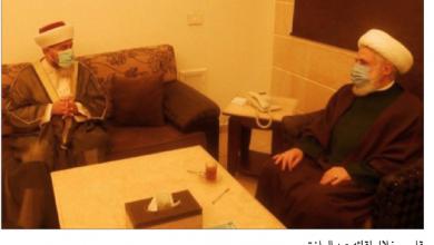 Photo of قاسم يلتقي عبد الرازق وتأكيد على حلّ  قضية السجناء الفلسطينيين المظلومين