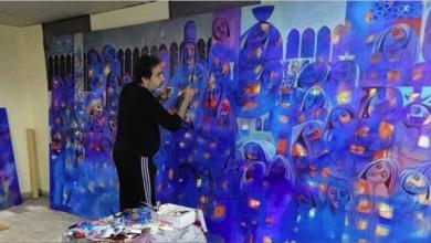 Photo of سورية بتفاصيل أحلامها وأحزانها تسكن لوحات التشكيلي نزار حطاب