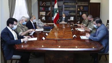 Photo of عون للوفد المكلّف بمفاوضات الترسيم: للتمسّك بالحقوق اللبنانية والدفاع عنها