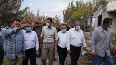 Photo of الأسد يزور المناطق التي تعرّضت للحرائق: نحن أمام كارثة وطنيّة بالمعنيين الإنسانيّ والاقتصاديّ