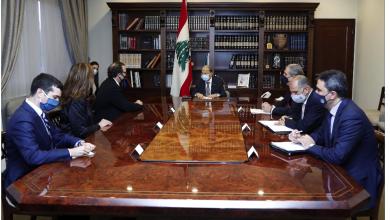 Photo of عون: نعمل لقيام حكومة نظيفة تركّز على تحقيق الإصلاحات