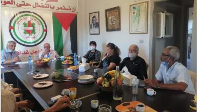 Photo of لقاء اتحادي نقابات فلسطين  وعمّال الجنوب