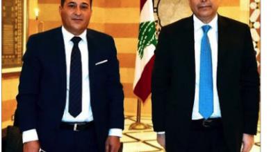 Photo of دياب التقى السفير الروسي والبنك الدولي ووفوداً