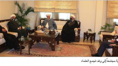 Photo of «تجمّع العلماء» زار علي عبد الكريم: تطوير العلاقات مع سورية ضرورة للبنان