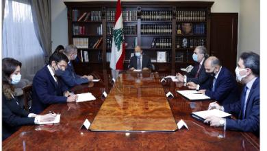 Photo of عون عرض مع كوبيتش  مراحل تنفيذ القرار 1701