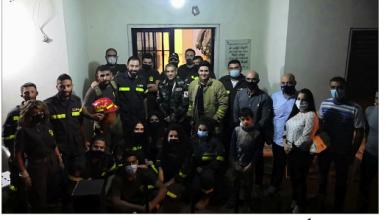 Photo of فتّوحي يدعم الدفاع المدني في حراجل