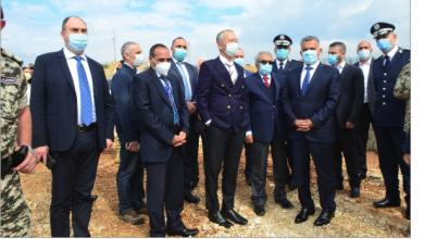 Photo of وضع حجر الأساس لمعهد أمن عام الدامور  إبراهيم: مسيرتنا هي مكافحة الإرهاب وتثبيت الأمن