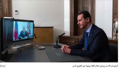 Photo of الأسد وبوتين يمهّدان لمؤتمر النازحين بتأكيد الاستقرار ورفض الحصار… ولبنان يشارك