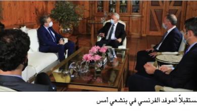 Photo of دوريل بحث الأوضاع مع فرنجيّة وباسيل والجميّل
