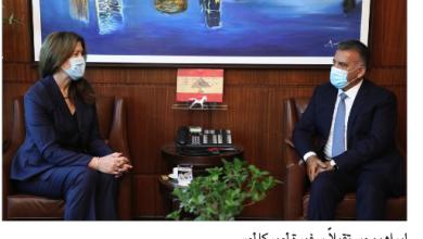 Photo of إبراهيم التقى أهالي الموقوفين  وعرض مع شيا نتائج زيارته واشنطن
