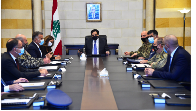 Photo of دياب ترأس اجتماعاً أمنياً لتقييم إجراءات الإقفال وضرورة الاستمرار فيها