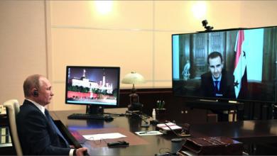 Photo of بوتين والأسد يتبادلان التهاني بمناسبة أعياد الميلاد ورأس السنة