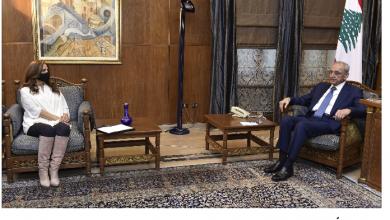 Photo of برّي عرض الأوضاع مع عكر وشيا ورشدي  ودعا اللجان لدرس الدعم والاحتياط الإلزامي