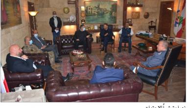 Photo of نهرا ترأس اجتماعاً أمنياً لتعزيز الإجراءات منعاً للتعديات شمالاً