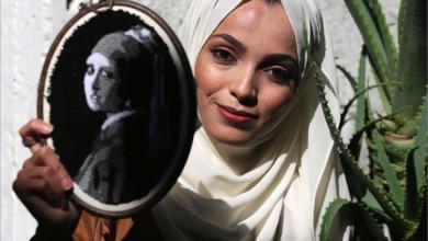 Photo of تقنيتها إبرة وخيط.. آية المغاري فنانة فلسطينية تبدع