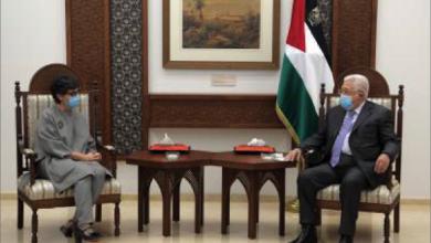 Photo of عباس لـ وزيرة خارجية إسبانيا:  نعود الى المفاوضات ولكن بشروط