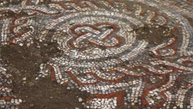 Photo of على نسق شعار الماندالا السوريّة..  فسيفساء «رومانيّة» من العصور الوسطى