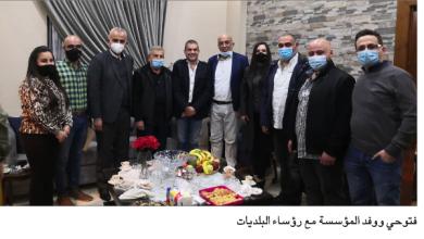 Photo of اتفاقية بين مؤسسة فتّوحي و 4 بلديات لترميم طريق عام زيتون ـ العذرا في كسروان