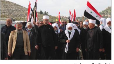 Photo of «البناء» هناك أيضاً: لقاء الأبطال من الجولان السوريّ إلى فلسطين السوريّة..  المجد للمقاومة طريقاً وحيدة للوحدة!!