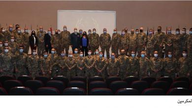 Photo of تكريم ضباط شاركوا في أعمال الإغاثة  عكر: المؤسسة العسكرية ضمانة لبنان