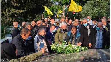 Photo of وفد من «القومي» شارك في احتفال «فتح» عند أضرحة الشهداء في شاتيلا…