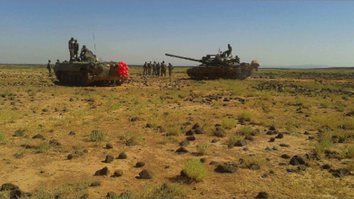 Photo of الجيش السوريّ يطلق عملية أمنيّة قرب الحدود الأردنيّة ووحدة خاصة منه تحيّد 11 إرهابياً وتباغتهم غرب حماة