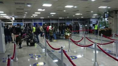Photo of وصول أول رحلة إلى مطار حلب الدوليّ  من بيروت بعد استئناف العمل فيه