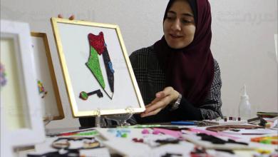 Photo of التشكيلية الفلسطينية نداء الشنطي فنانة تبدع أيقونات بفن «الكويلينج»