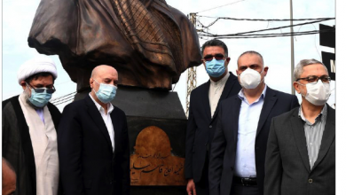 Photo of حزب الله يواصل إحياء ذكرى سليماني والمهندس: دماؤهما ستقتلع الوجود الأميركي من المنطقة