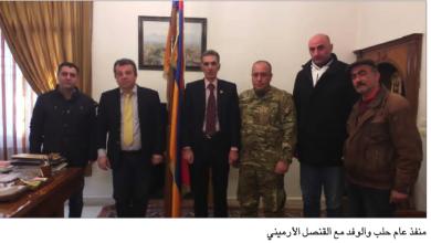 Photo of وفد من منفذية حلب في «القوميّ» يزور قنصليّة أرمينيا في حلب