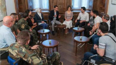 Photo of الأسد يوجّه بتسديد قروض جميع الجرحى من الجيش والقوات المسلحة وقوى الأمن الداخلي والقوات الرديفة