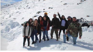 Photo of ويك أند أبيض في أحضان جبل الشيخ