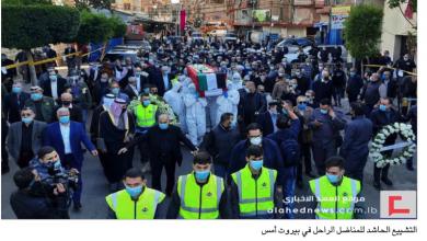 Photo of تشييع حاشد للمناضل أنيس النقاش في الغبيري حمّود: لنبتعد عن العصبيات ونتّحد جميعاً على طريق فلسطين