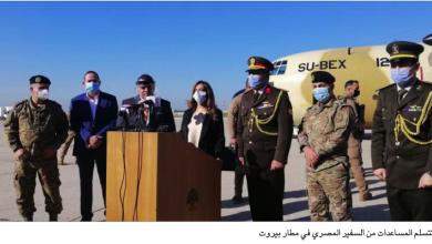 Photo of مساعدات طبية وغذائية مصرية للجيش  عكر: هباتكم خفّفت أوجاع الناس
