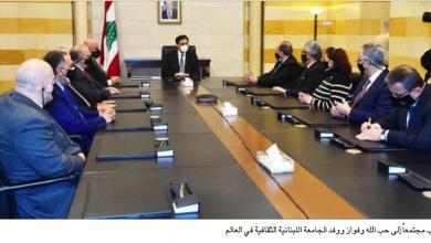 Photo of دياب التقى حبّ الله والجامعة اللبنانية الثقافية: للمغتربين دور في دعم إعادة النهوض الاقتصادي في لبنان