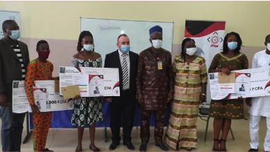 Photo of «منحة المفكر أنطون سعاده» لطلبة متفوقين في جمهورية بنين باحتفال في جامعة أبومي كالافي