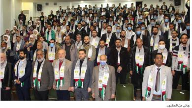 Photo of رابطة فلسطين الطلابية أحيت في دمشق ذكرى الشهيدين سليم ومنصور