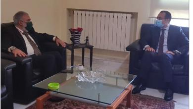 Photo of عميد الخارجية في «القومي»  التقى قنصل مصر في لبنان