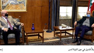 Photo of رئيس المجلس عرض الأوضاع  مع وزني وقنديل