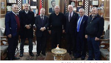 Photo of رئيس «القوميّ» زار أمين فرع «البعث» في حمص على رأس وفد مركزي
