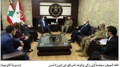 Photo of زكي زار بكركي واليرزة: سنستمرّ بالسعي لإيجاد مخرج للأزمة