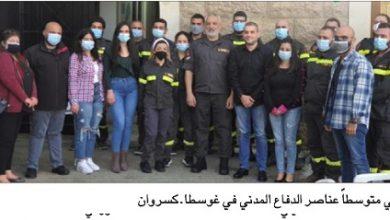Photo of هبة جديدة من مؤسّسة فتّوحي للدفاع المدني في غوسطا