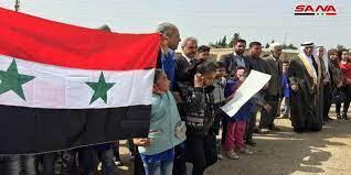 Photo of وقفة وطنيّة احتجاجيّة في ريف الحسكةرفضاً للاحتلالين الأميركيّ والتركيّ