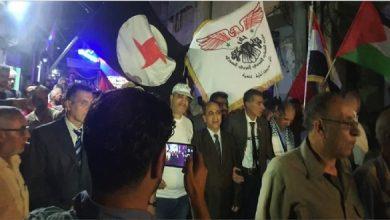 Photo of منفذية حلب في «القومي» شاركت في مسيرة مخيم النيرب  تضامناً مع شعبنا في فلسطين بمواجهة العدوان الصهيوني