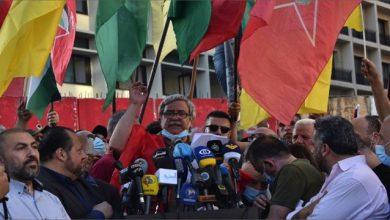 Photo of مسيرة في بيروت انتصاراً لفلسطين بمشاركة وفد من «القومي»