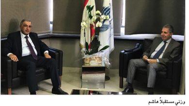 Photo of وزني التقى هاشم وبحث مع غجر ونجم حلولاً للكهرباء